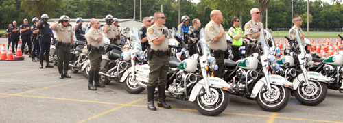 2017 Hendersonville Police Motorcycle Skills Competition