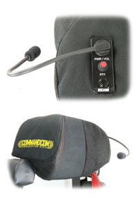 Integrated Seat Communications System