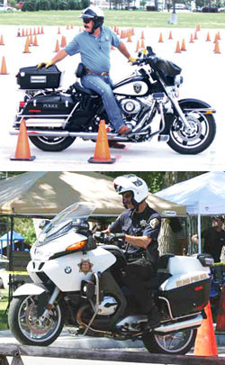 Police Motorcycle Communications