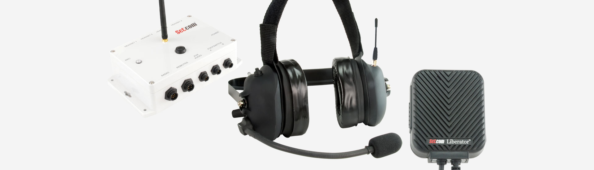 Setcom headsets and intercoms