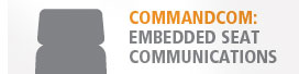 CommandCom Embedded Seat Communications